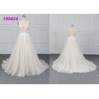 Wholesale Beautiful Bridal A Line Ball Gown Wedding Dress Gowns Customize Made All Sizes‎ from china suppliers