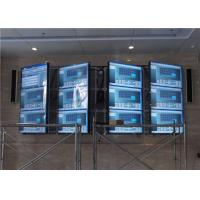 Quality High Contrast Large Video Wall Digital Signage Flexible Structure With Controller for sale