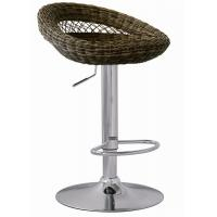 Wholesale Outdoor Furniture Rattan Bar Stools Adjustable Height SGS Standard from china suppliers