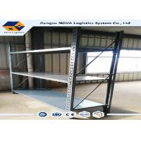 Wholesale SGS Cold Rolled Steel Rivet Boltless Shelving 500 - 5000 Kg Per Layer from china suppliers