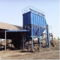 Wholesale Pulse Jet Bag Filter Dust Collector Equipment Low Emission For Asphalt Mixing Site from china suppliers