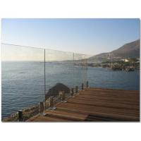 Wholesale 1000 x 1170 MM Laminated Railing Glass For Deck  AS2208 Standard from china suppliers