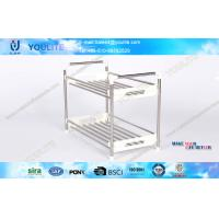 Wholesale Anti-rust Stainless Steel Storage Rack / Small Corner Shelf for Home Bathroom from china suppliers