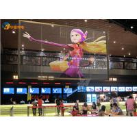 Wholesale P5 500x1000mm Glass Advertising Led Display Screen , Window Wall Animation Display from china suppliers
