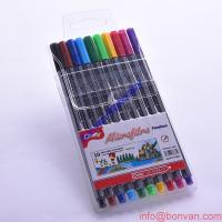 Wholesale PVC bag pack Triangle fine liner, ultra fine liner pen set,art drawing Fineliner from china suppliers