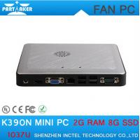 Wholesale Mini linux embedded pc intel celeron 1037u K390N support 300M wifi mini computer from china suppliers