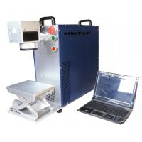 Wholesale 50w Portable Laser Marker, Fiber Laser Marking System For Lamps / Hardware Industry from china suppliers