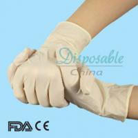 Wholesale Disposable cheap latex examination gloves M 5.5g from china suppliers