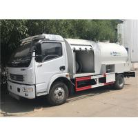 Wholesale 6m3 3 Tons 6000l Bobtail Lpg Truck , Dongfeng 6 Wheels Lpg Filling Dispenser Truck from china suppliers