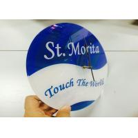 Wholesale Large Round Custom Logo Clocks Ultra Thin Personalized Promotional Gifts from china suppliers