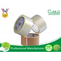 Transparent Acrylic Adhesive BOPP Packing Tape Automated / Manual Sealing For Cartons