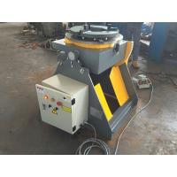 Wholesale Welding Turn Table Positioner With 3 Jaws Welding Chuck 2 Direction 90° Tilting from china suppliers