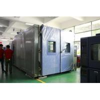 Quality Stainless Steel Walk In Environmental Chamber For Vehicle Reliability Testing for sale