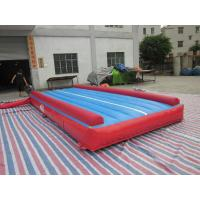 Buy cheap 0.55 mm PVC Tarpaulin Inflatable Air Track Gymnastics Square from wholesalers