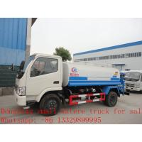 Wholesale Dongfeng XBW 5,000L water tank for sale from china suppliers