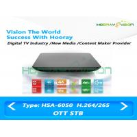 Wholesale ULTRA HD Quad Core Smart Over The Top Set Top Box 64 - Bit Support Android 5.1 from china suppliers
