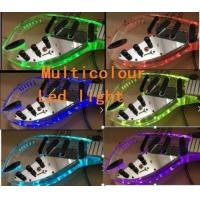 Wholesale New Style Crystal Electric Guitar,Acrylic Body Electric Guitar With  Multicolour  LED Light from china suppliers