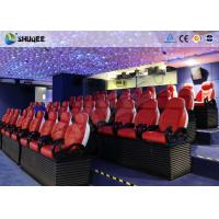 Wholesale 3 Seats / Set Bearing 450Kg 5D Movie Theater For 39 Chairs Cinema Entertainment from china suppliers
