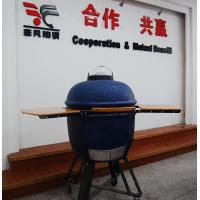 Wholesale Safety Heat Resistant 20 Inch Oval ceramic Big Green Egg Oven / Grill With Table from china suppliers