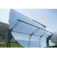 Wholesale 3.2mm , 4mm Low Iron Float Solar Mirror Ultra Clear UV Resistance , Parabolic Trough from china suppliers
