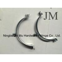 Wholesale White Zinc Electro Galvanized Round Large Hose Clamps / Hydraulic Hose Clamps Supports from china suppliers