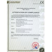 Wenzhou Zhiwei Machinery Co.,Ltd Certifications