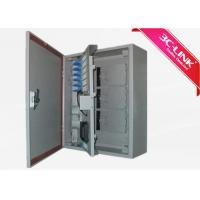 Wholesale Outdoor Wall Mount PLC Splitter  Fibre Optic Terminal Cabinet/ Outdoor Fiber Cabinet from china suppliers