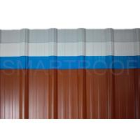 Wholesale Sound Weaken Cold Room Corrugated Roof Panels ,5 - 12 Meters Long from china suppliers