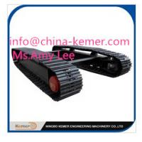 Quality crawler chassis/customized steel undercarriage for sale