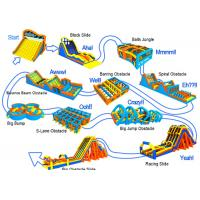 Wholesale Fire-Proof Inflatable Obstacle Course 5k With 2 Years Warranty from china suppliers