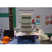 Quality Hat / Finished Garments Single Head Cap Embroidery Machine Low Noise / Less Vibration for sale