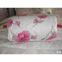 Buy cheap Red Flower Decorative Polyester Outer Fabric Custom Home Comforters from wholesalers