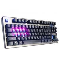 Wholesale 87 Keys illuminated Mechanical Gaming Keyboard anti ghosting USB interface from china suppliers