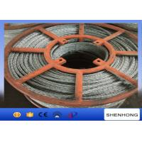 Wholesale 15mm Hexagon Galvanized Steel Wire Rope 12 Strands Anti Twisting from china suppliers