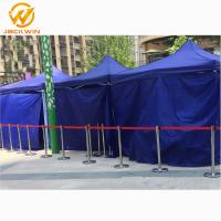 Quality Airport/Bank/Events Crowd Control Stainless Steel Retractable Belt Queue Barrier for sale