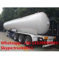 Wholesale 2017s New design 59.5cubic meters bulk lpg gas semitrailer for sale, factory sale bottom price 59.5m3 lpg tank trailer from china suppliers