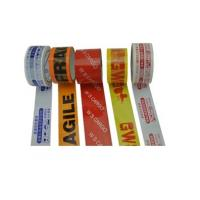 Quality High resistance Printed Packaging Tape for bundling , wrapping for sale