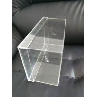 Wholesale OEM Logo Printing Clear Acrylic Sneaker Shoes Box Display With Lids from china suppliers
