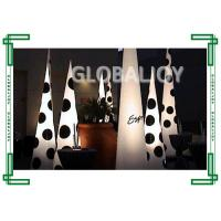 Wholesale Outdoor lighted christmas decorations / Inflatable parachute fabric Cone 3 Meters from china suppliers