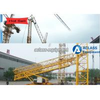 Wholesale Custom Self Jacking / Self Raising Tower Crane Boom Length 25m 0.8t Tip Load from china suppliers