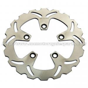 Wholesale Rear Motorcycle Brake Disc Rotor Kawasaki ZX7R ZXR 750 Heat Treatment 5 Holes from china suppliers