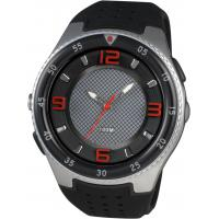Wholesale Mens Round Sporty Analog Watches With Led Torch And 100m Water Resistant from china suppliers