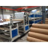 Wholesale PE Pipe Machine Aluminum Composite Panel Line 5m / min 1200mm Height from china suppliers