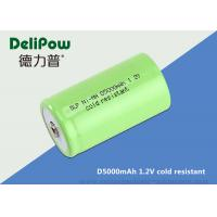 Wholesale D5000 1.2 Rechargeable Batteries For Cold Weather Long Cycle Life from china suppliers