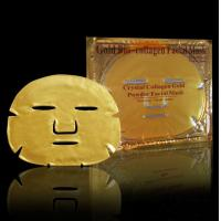 Wholesale gold collagen facial mask|Private Label Collagen Gold Crystal Facial Mask ,Golden Collagen Face Mask from china suppliers