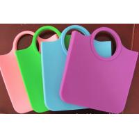 Wholesale Reusable Candy Silicone Shopping Bag Dull Polish , Eco-friendly from china suppliers