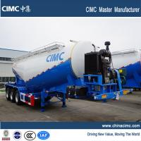 Wholesale cimc 3 axles 30 tonnes bulk cement tank trailer sales for kenya from china suppliers