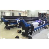 Buy cheap Epson DX7 LED UV Inkjet Printer 1700mm With CMYK and White / Grossy ink from wholesalers