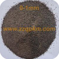 Wholesale Brown Fused Alumina Refractory Grade 0 - 1 mm from china suppliers