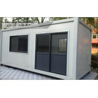 Wholesale 20 Foot Durable Glass collapsible container house / shelter modular homes for Living room from china suppliers